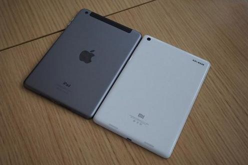 小米平板 vs ipad mini 2